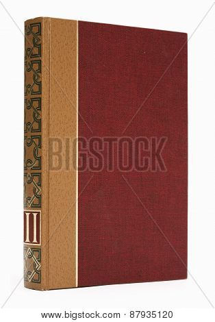 Book on white background