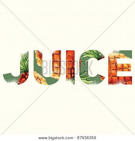 Juice Sign