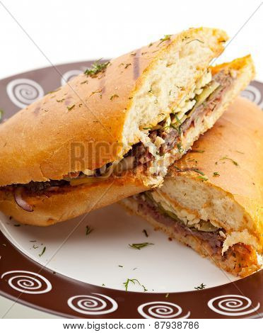 Panini - Italian Sandwich with Chicken