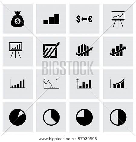 Vector economic icon set
