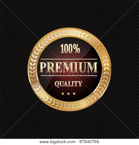 Golden label premium quality
