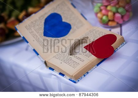 Book, Rings, Wedding