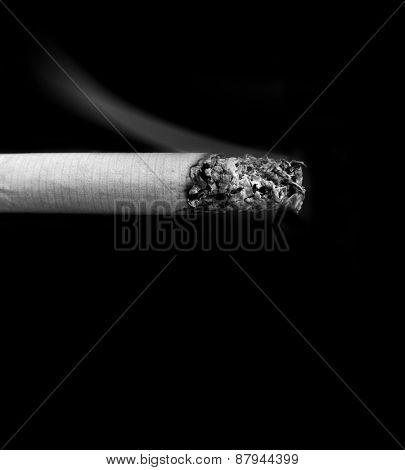 Cigarette lit