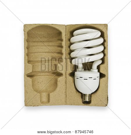 Boxed light bulb