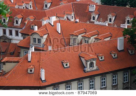 Roofs of Red Tiles