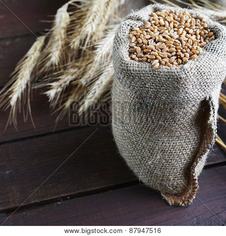 Bag With Grain