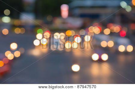 Colorful Bokeh Abstract Background