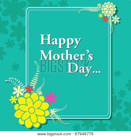 Happy Mother's Day celebration background
