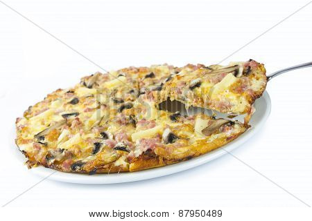 Meaty Pizza