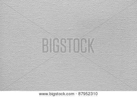 Closeup of blank canvas texture