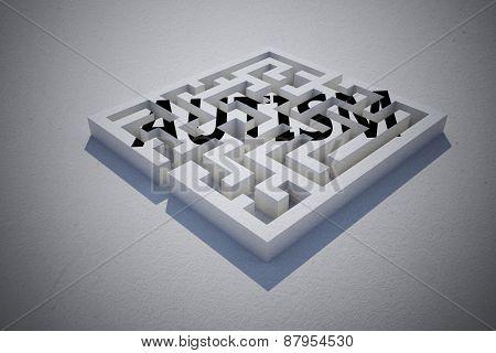 autism against maze puzzle