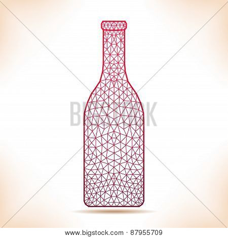 Geometric Bottle.