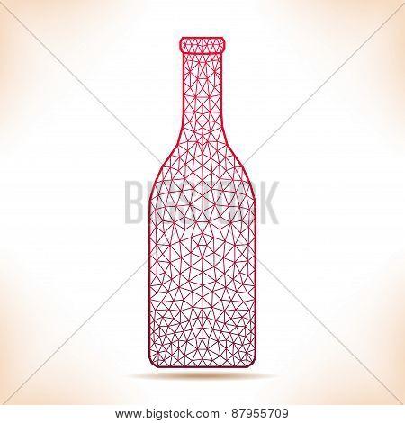 Geometric Bottle.