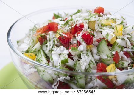 Vegetable Salad.