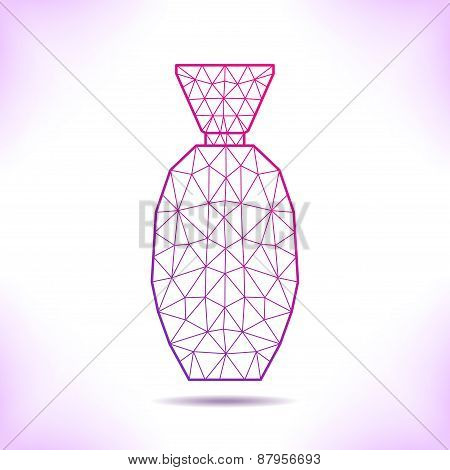 Geometric Flacon.