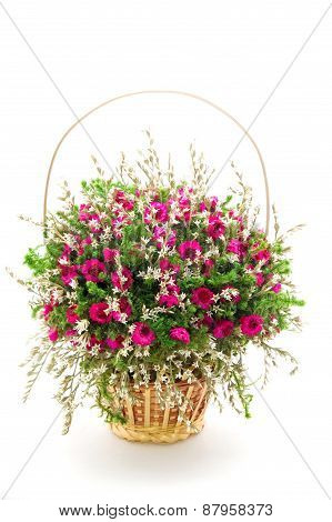 Beautiful Bouquet Of Dry Flowers