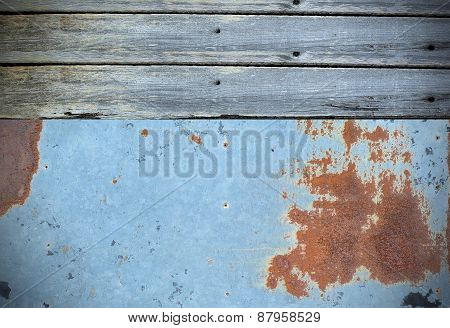 Wood Metal Pattern Texture Background