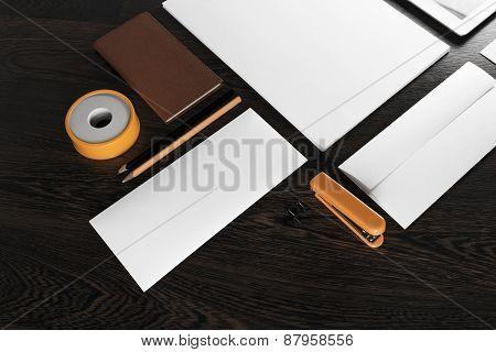 Fragment of stationery