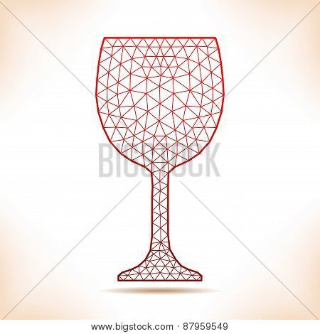 Geometric Wineglass.