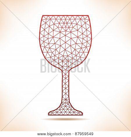 Geometric Wineglass.