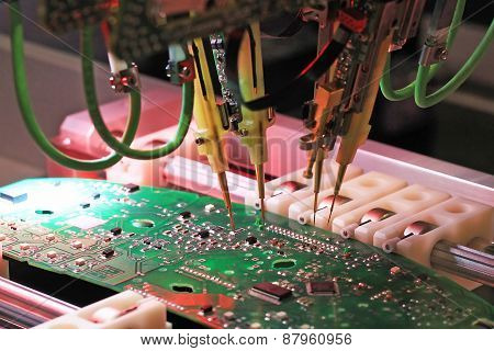 Inspection Of Printed Circuit Boards