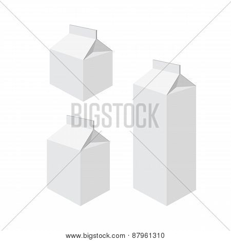 Milk packets