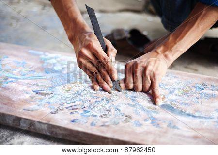 Vietnamese craftsman