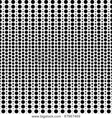 Seamless pattern of blend circles.