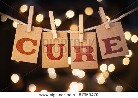 Cure Concept Clipped Cards And Lights