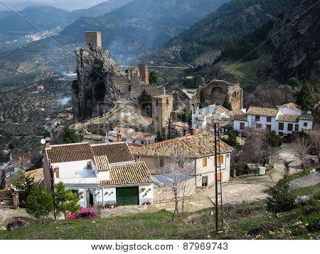 Ancient Castle On The Rock, La Iruela, Andalusia, Spain