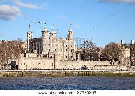 Famous Tower of London, United Kingdom