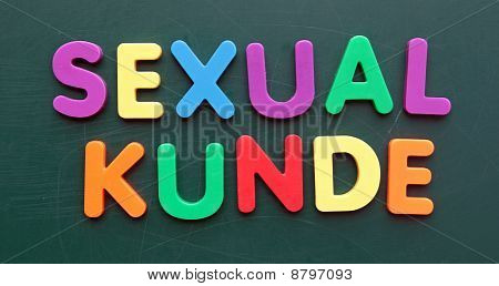 Sexualkunde - Engl.: sexual education