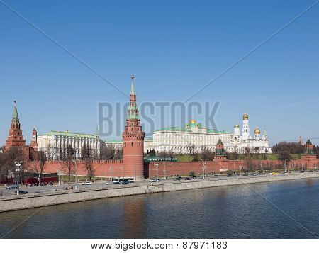 Beautiful Moscow Kremlin