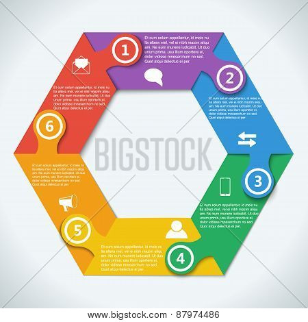 Teamwork social infographic, diagram, presentation