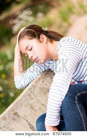 Relaxed Girl 3