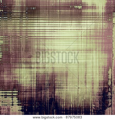 Abstract grunge textured background. With different color patterns: purple (violet); brown; gray