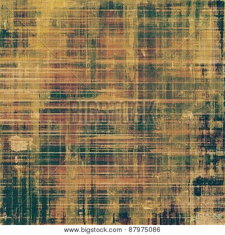 Rough grunge texture. With different color patterns: yellow (beige); brown; green
