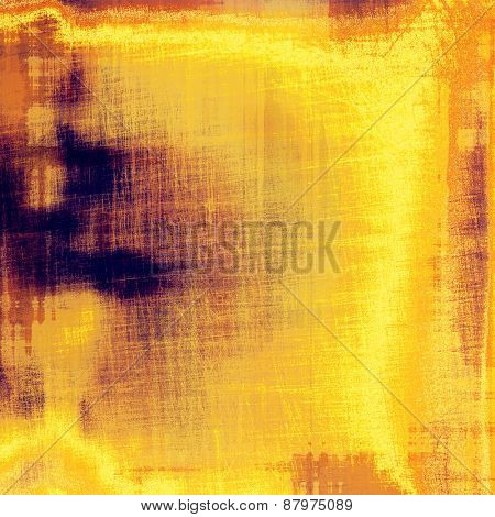 Antique vintage texture or background. With different color patterns: purple (violet); yellow (beige); brown