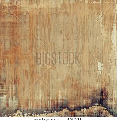 Grunge texture or background with space for text. With different color patterns: yellow (beige); brown; gray
