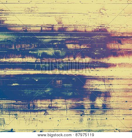 Vintage texture with space for text or image. With different color patterns: purple (violet); blue; yellow (beige)
