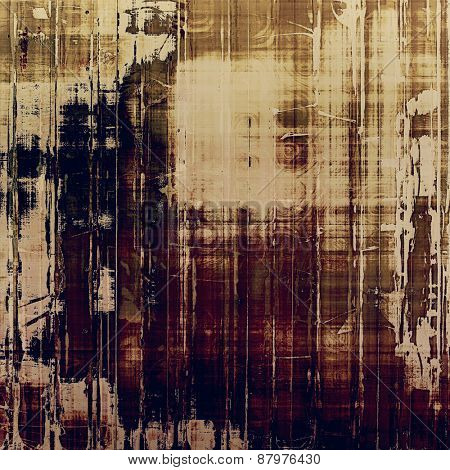 Rough grunge texture. With different color patterns: purple (violet); brown; gray; black