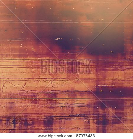 Vintage old texture for background. With different color patterns: purple (violet); brown; pink