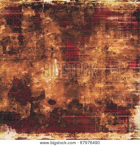 Grunge texture. With different color patterns: yellow (beige); brown; pink