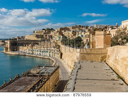 Harbor in Valletta