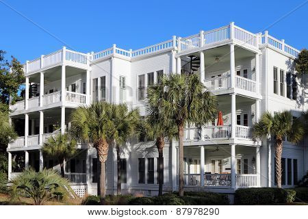 Beachside condos or apartments