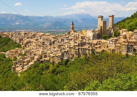 Pacentro Medieval Village, Abruzzo, Italy