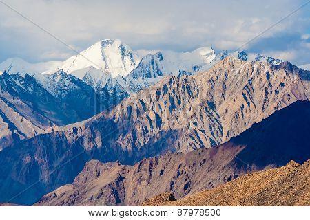 Amazing View From Khardung La - World Highest Motorable Pass, Ladakh, Himalayas, India
