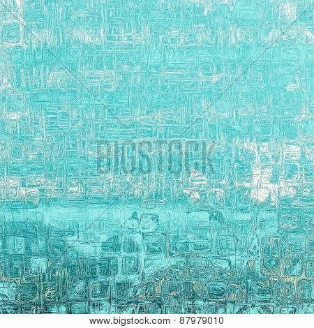 Rough grunge texture. With different color patterns: blue; cyan