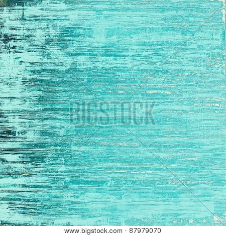 Old texture as abstract grunge background. With different color patterns: blue; cyan; gray