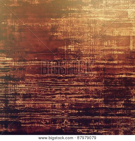 Colorful designed grunge background. With different color patterns: yellow (beige); brown